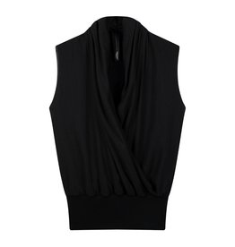 10Days 10Days Black wrap top layers 20-458-0203