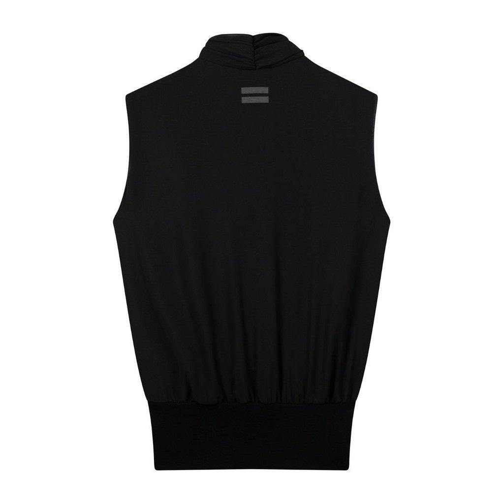 10Days Black wrap top layers 20-458-0203