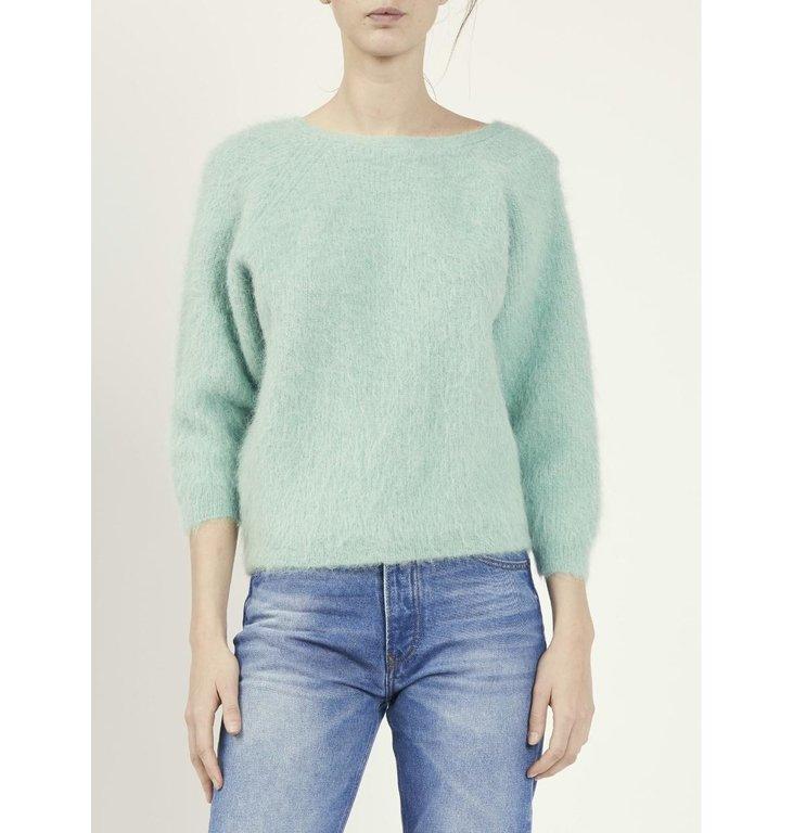 Ba&sh Ba&sh Mint Green Knit Fill