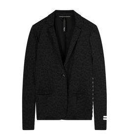 10Days 10Days Black blazer leopard 20-509-0203