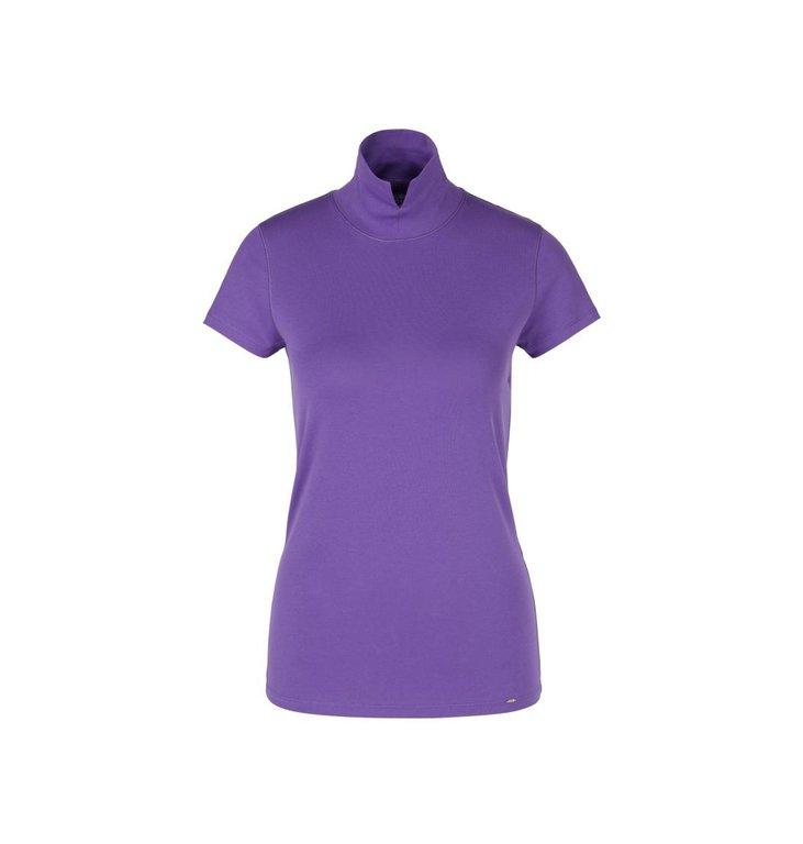 Marc Cain Marc Cain Purple T-shirt PC4855-J14