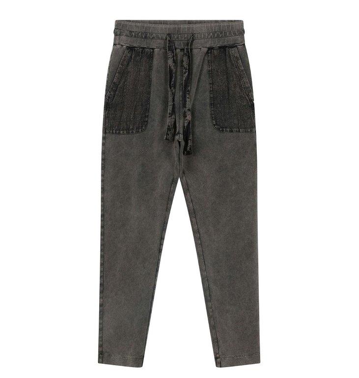 10Days 10Days Grey jogger washed 20-008-0203