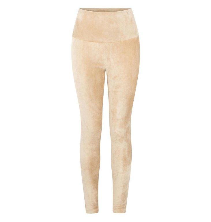 10Days 10Days Camel leggings velvet 20-025-0203