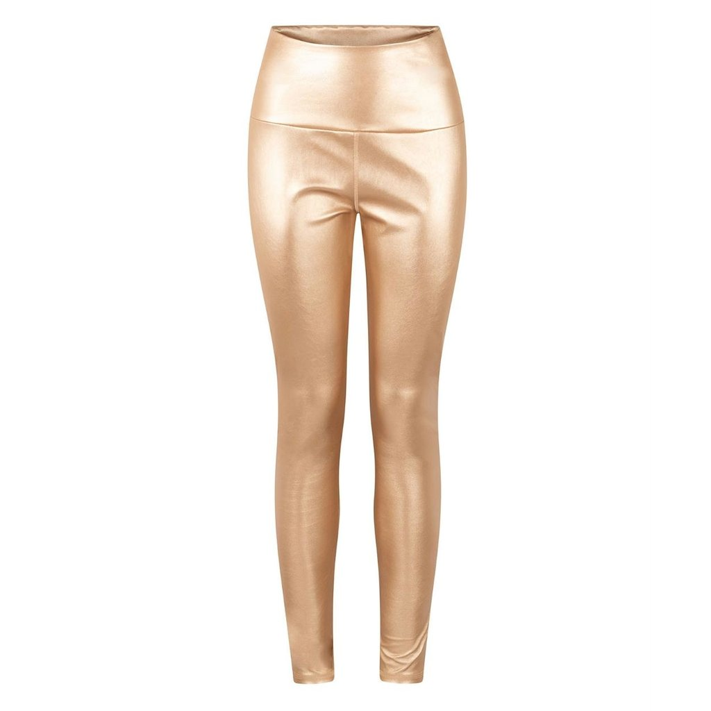 10Days Gold yoga leggings metallic 20-026-0203