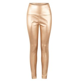 10Days 10Days Gold yoga leggings metallic 20-026-0203