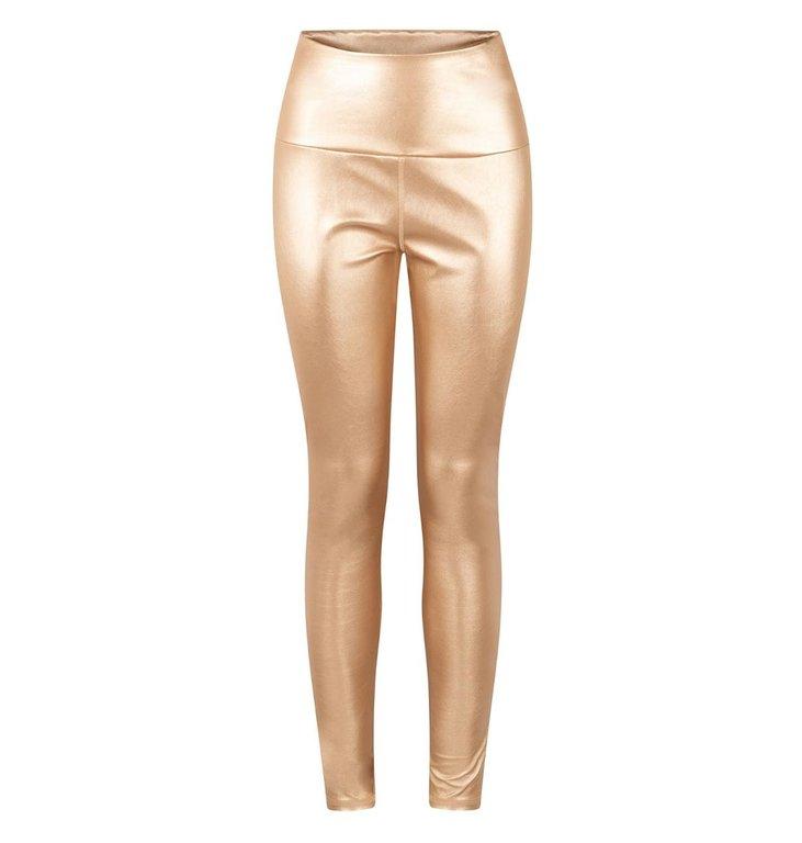 10Days 10Days Gold yoga leggings metallic 20-026-0203