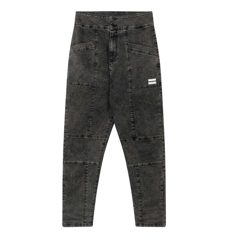 10Days 10Days Grey high waist denim washed 20-061-0203