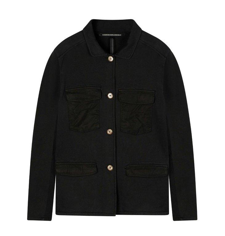 10Days 10Days Black utility jacket 20-507-0203