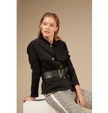 10Days Black utility jacket 20-507-0203