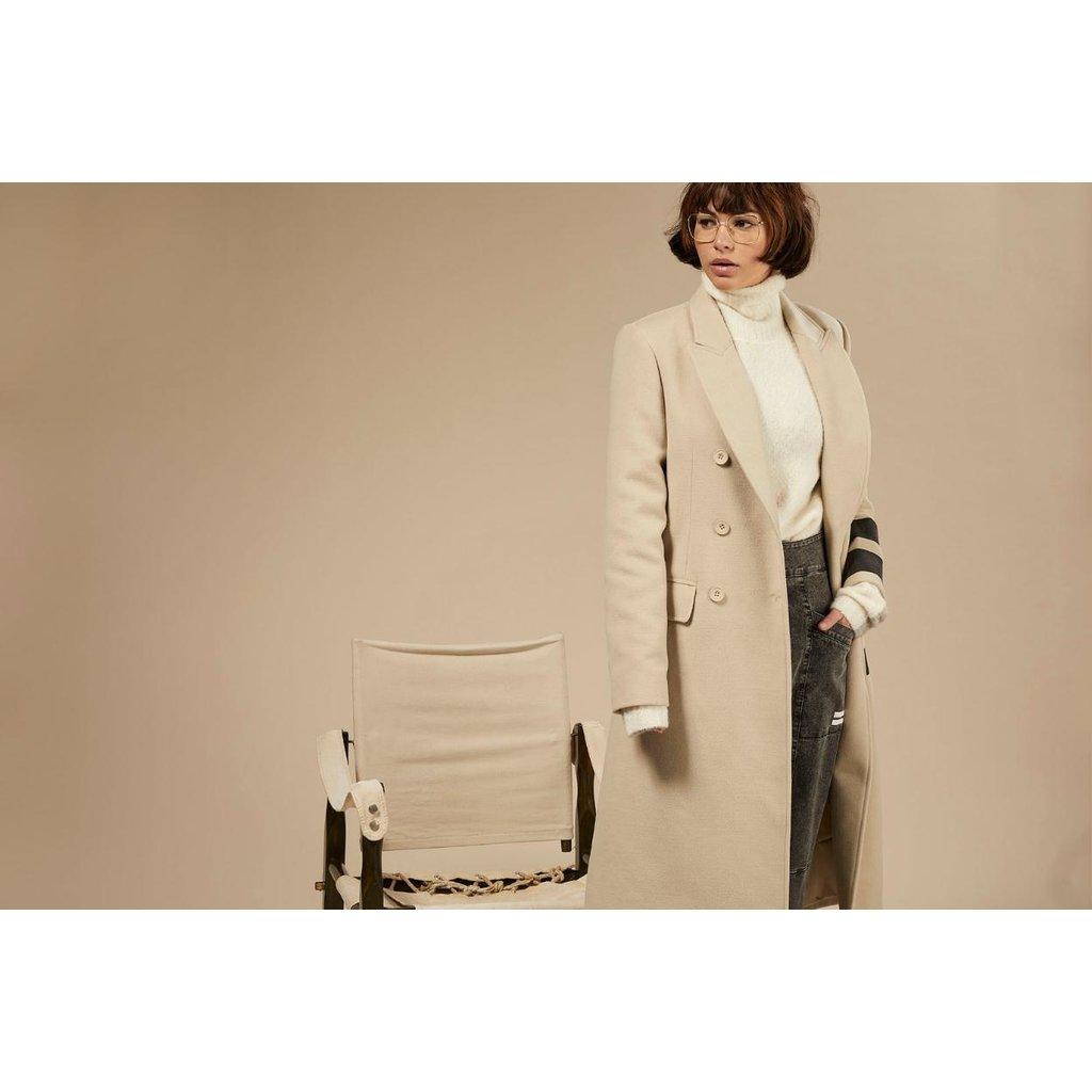 10Days Safari wool coat two stripe 20-575-0203