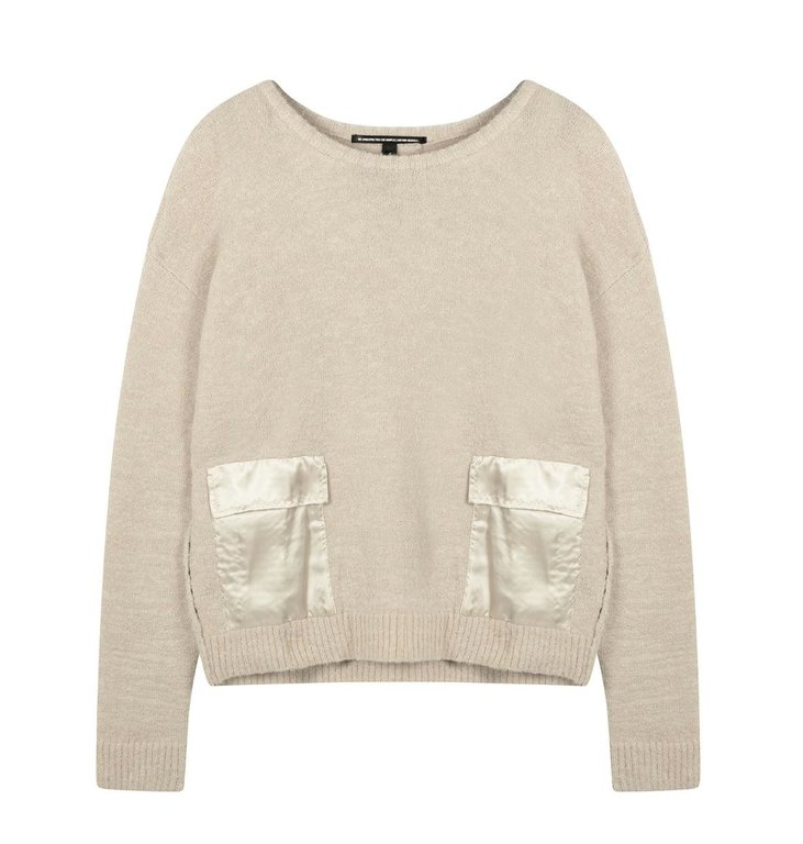 10Days 10Days Light Safari sweater pockets 20-617-0203