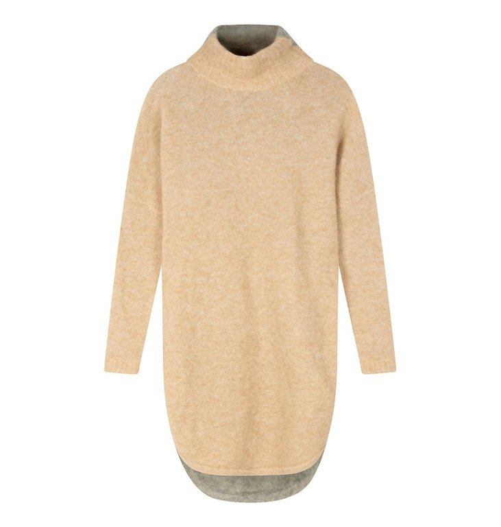 10Days 10Days Safari/Light Grey reversible coll dress 20-633-0203