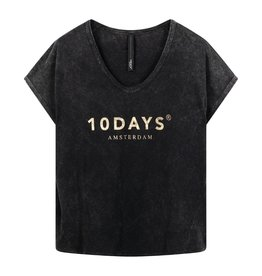 10Days 10Days Grey the fade out tee 20-753-0203