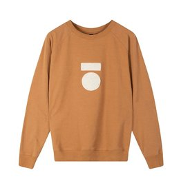 10Days 10Days Caramel crew neck sweater 20-808-0203