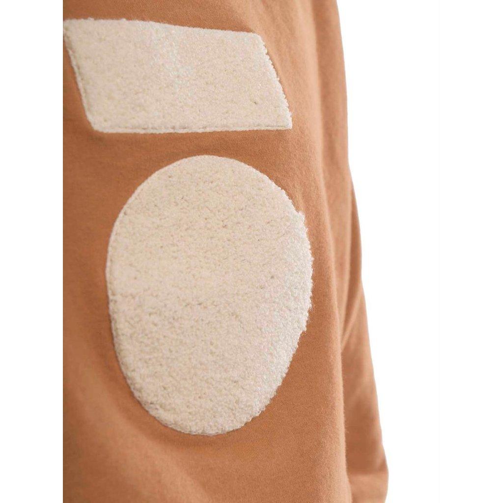 10Days Caramel crew neck sweater 20-808-0203