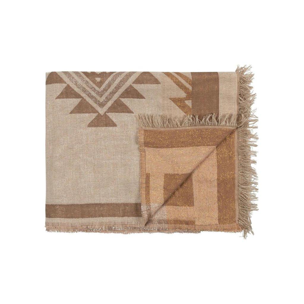 10Days Winter White scarf aztec 20-915-0203