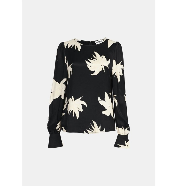 Essentiel Antwerp Essentiel Antwerp Black/Off White Blouse Wadam