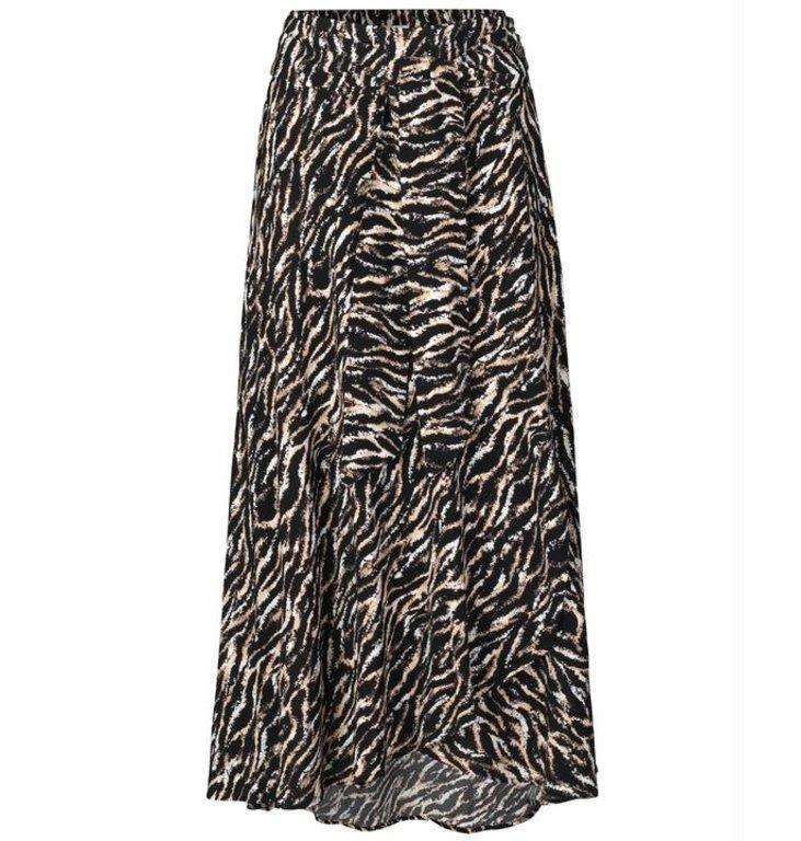 Notes du Nord Notes du Nord Multicolour Rosie Zebra Skirt 11907
