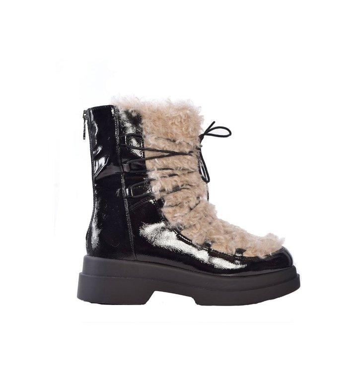 Marc Cain Marc Cain Black/White Boots PBSR01-W04