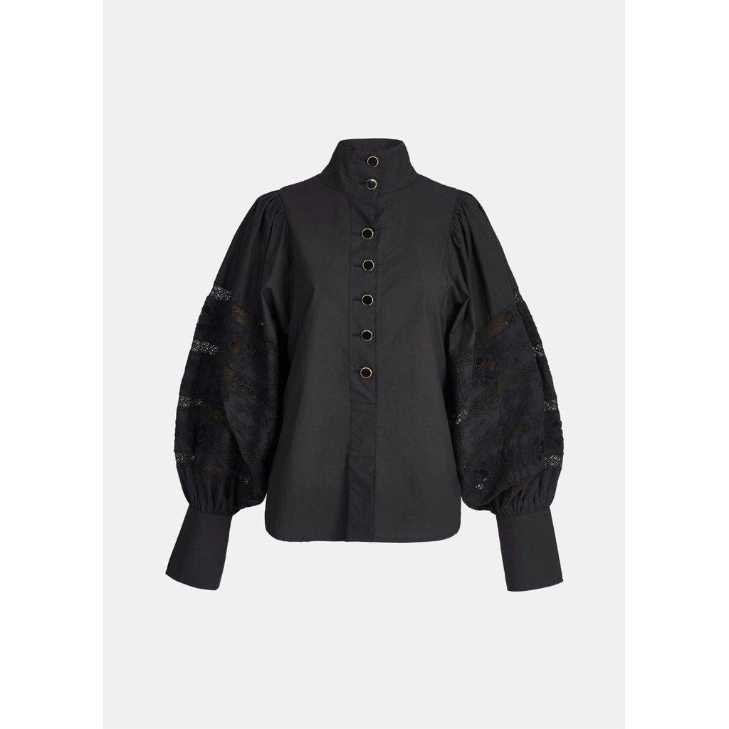 Essentiel Antwerp Black Blouse Witching