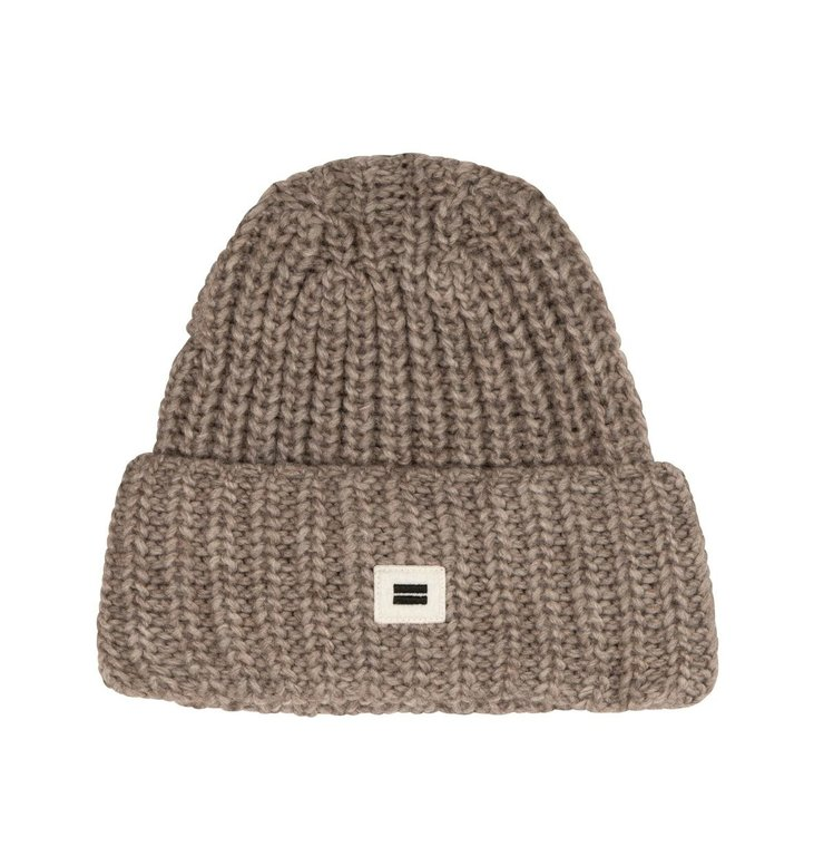 10Days 10Days Taupe Melee Knitted Beanie 20-693-0204