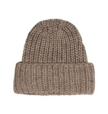 10Days Taupe Melee Knitted Beanie 20-693-0204