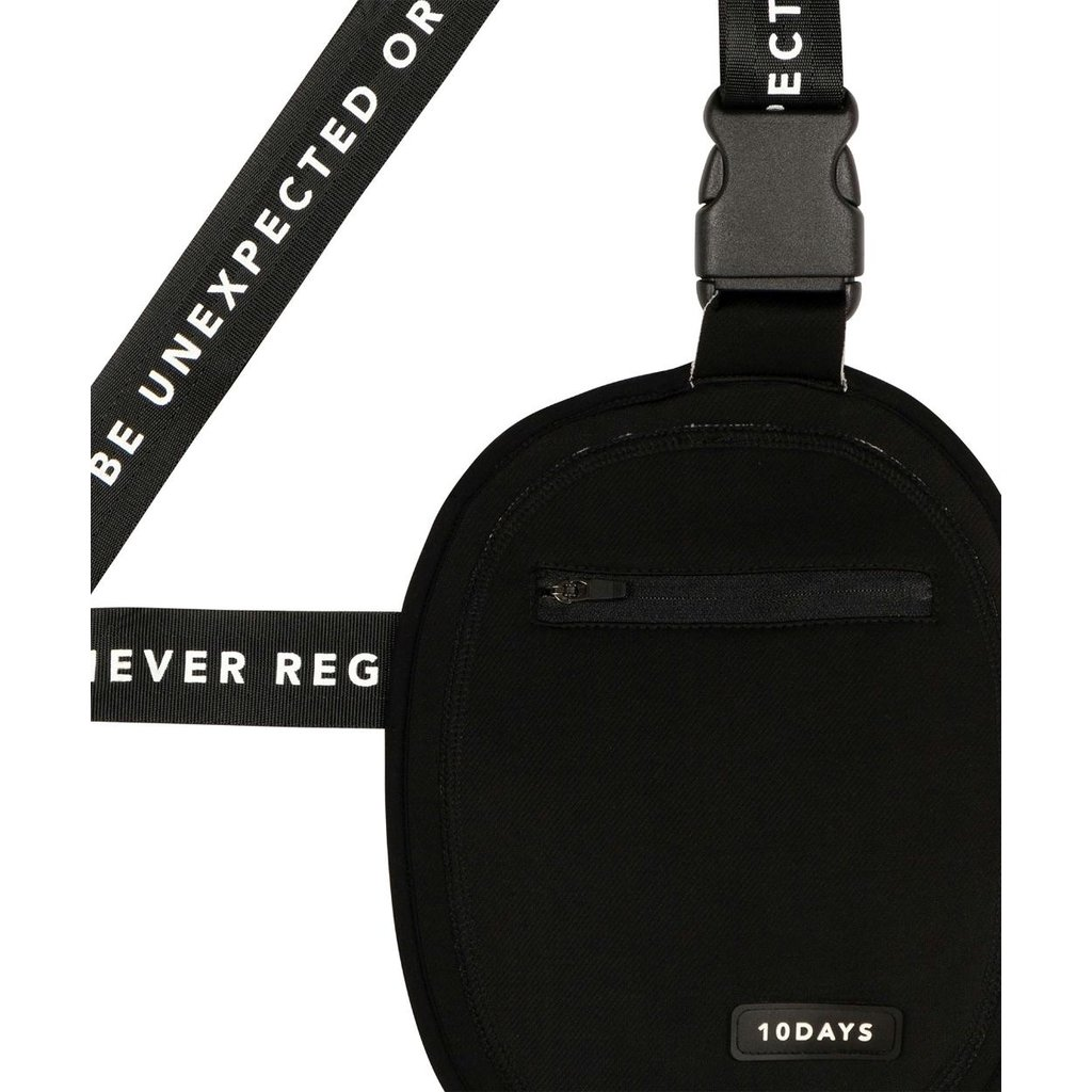 10Days Black Small Pouch 20-964-0204