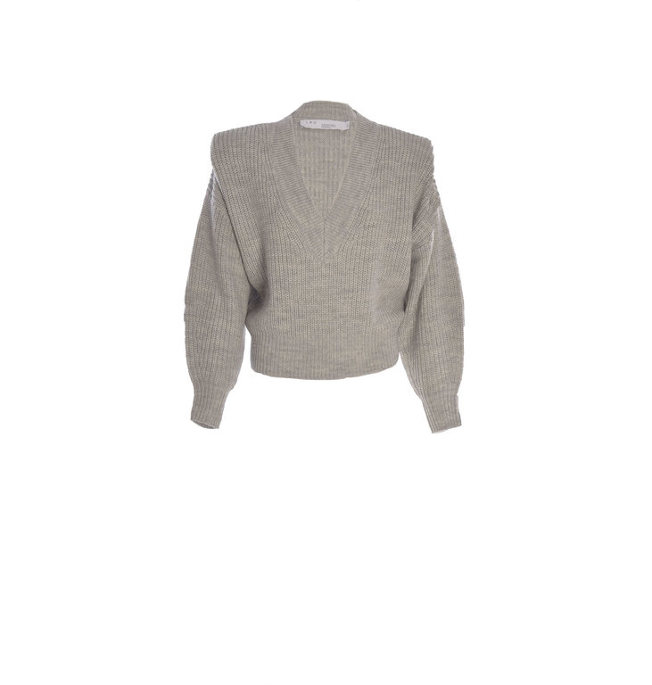 IRO IRO Light Grey Melee Pull Misty