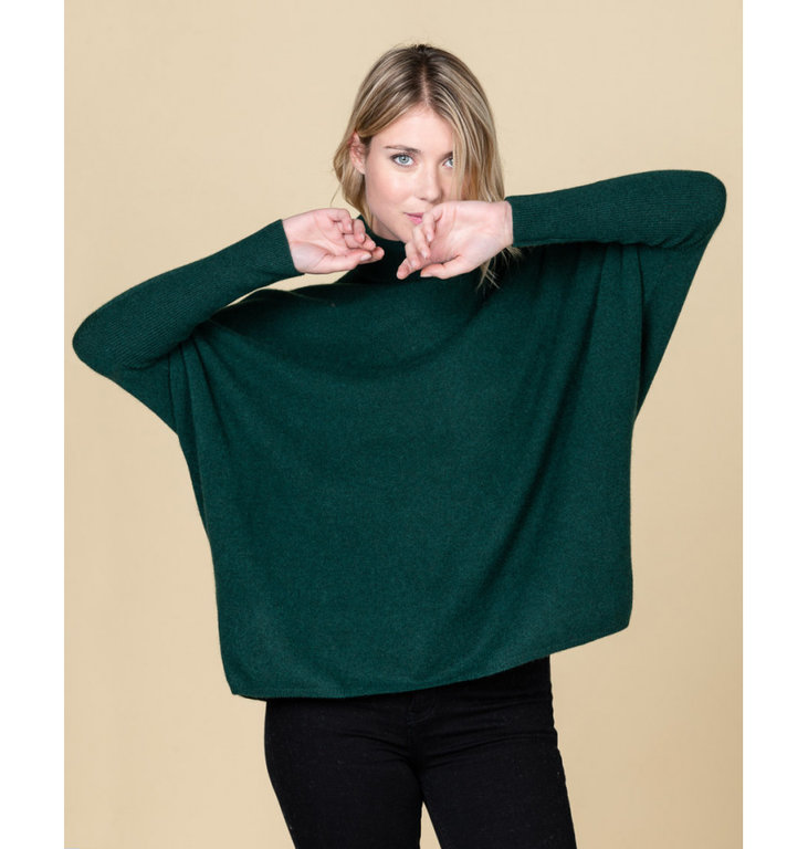Absolute Cashmere Absolute Cashmere Dark Green Pull Camille AC102013C