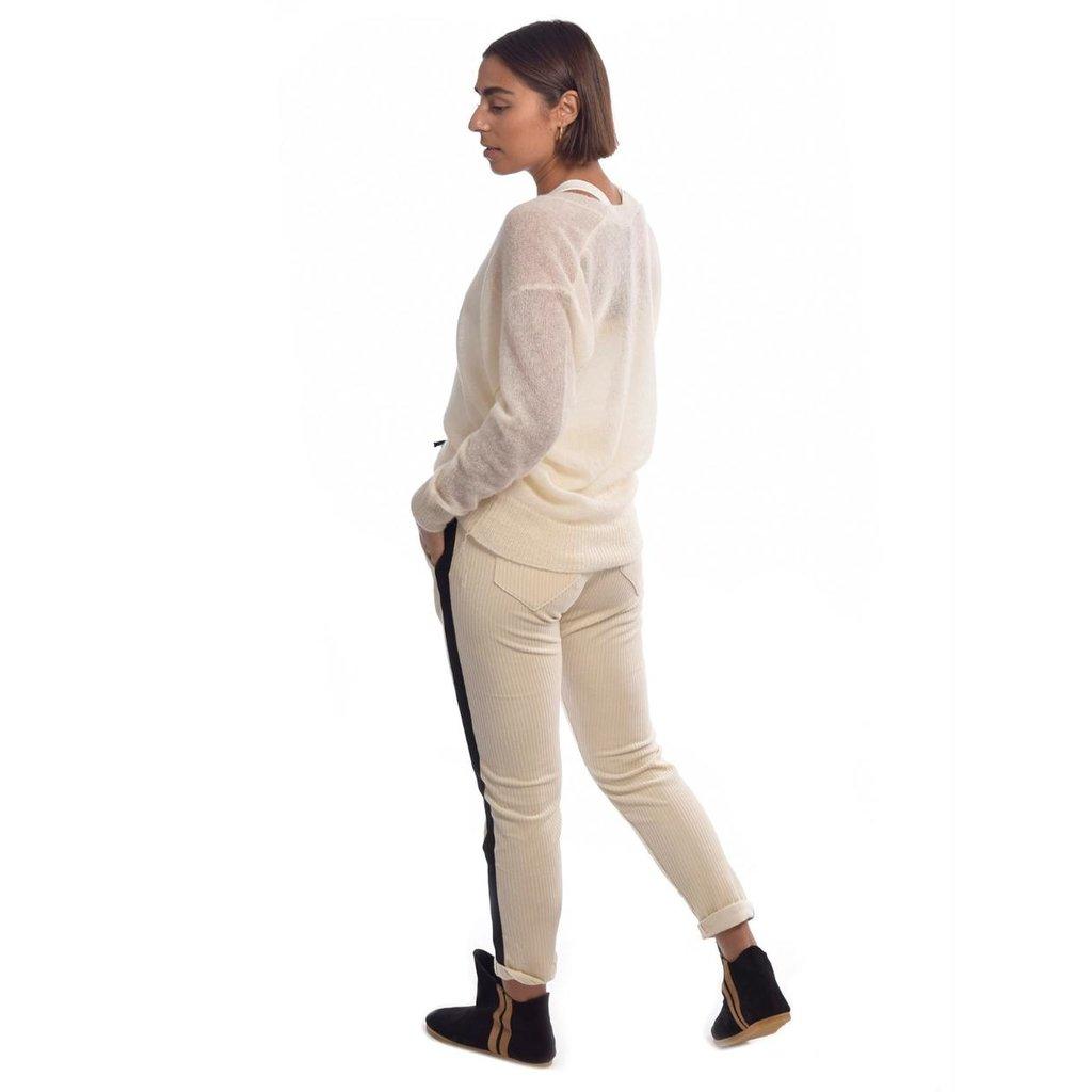 10Days Winter White pants corduroy 20-009-0204