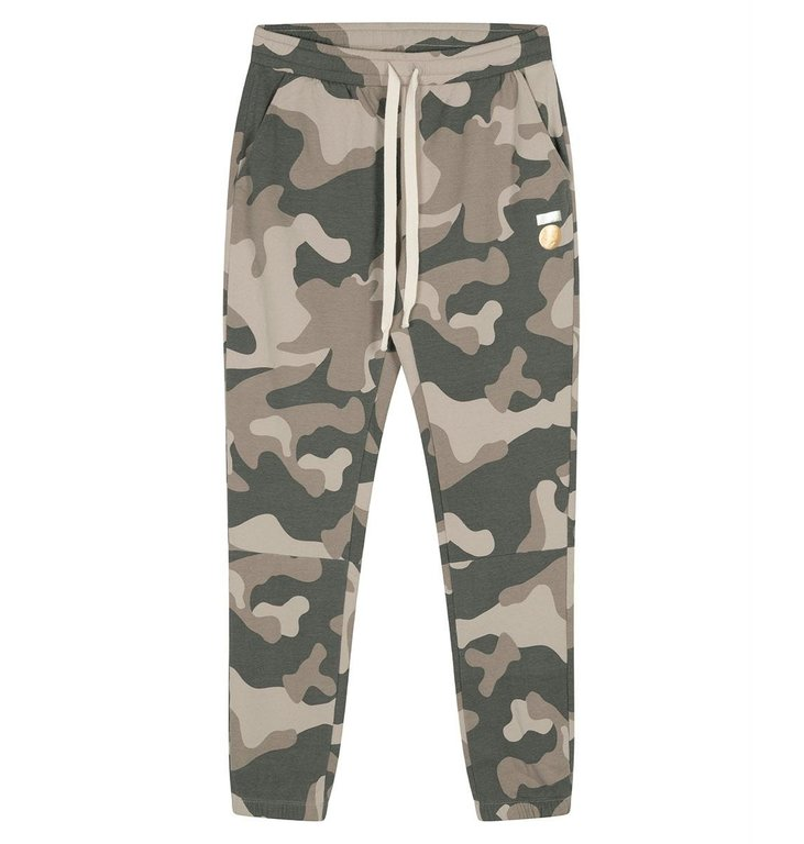 10Days 10Days Camouflage cropped jogger camo 20-012-0204