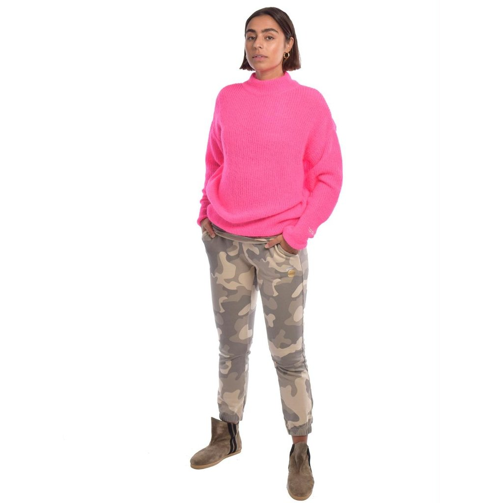 10Days Camouflage cropped jogger camo 20-012-0204