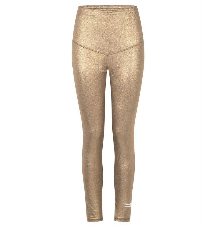 10Days 10Days Gold glitter leggings 20-021-0204