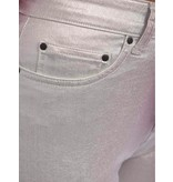 10Days Silver skinny denim metallic 20-060-0204