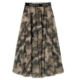 10Days 10Days Camouflage tulle skirt camo 20-105-0204