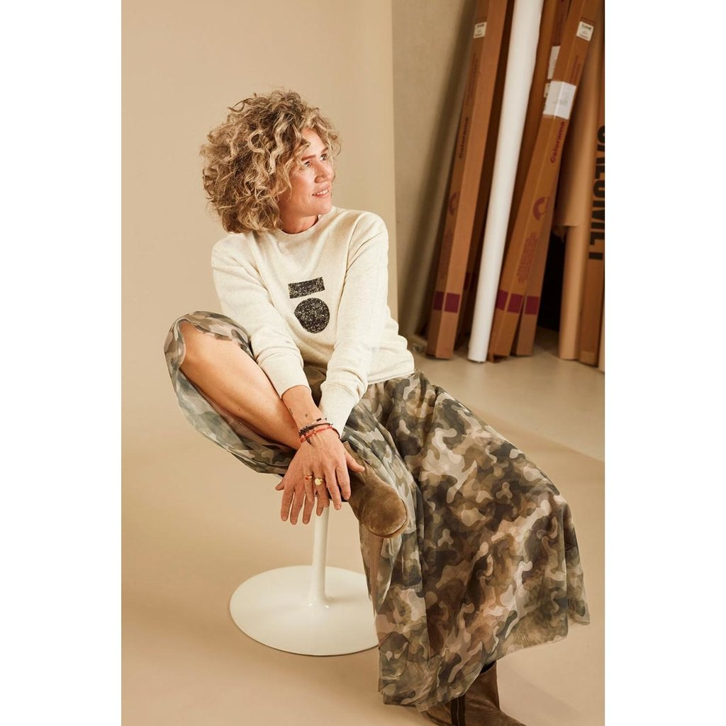 10Days Camouflage tulle skirt camo 20-105-0204