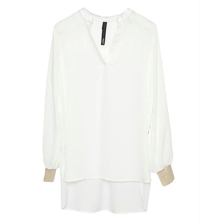 10Days 10Days Ecru flowy blouse 20-401-0204