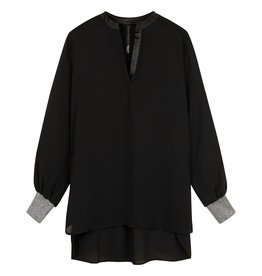10Days 10Days Black flowy blouse 20-401-0204