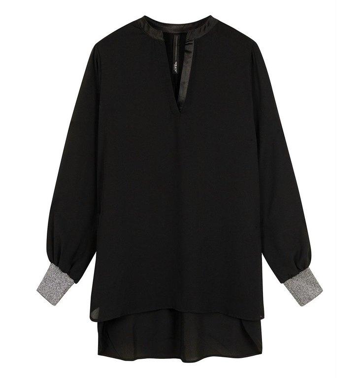10Days 10Days Black flowy blouse 20-401-0204