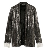 10Days Silver sequin blazer 20-508-0204
