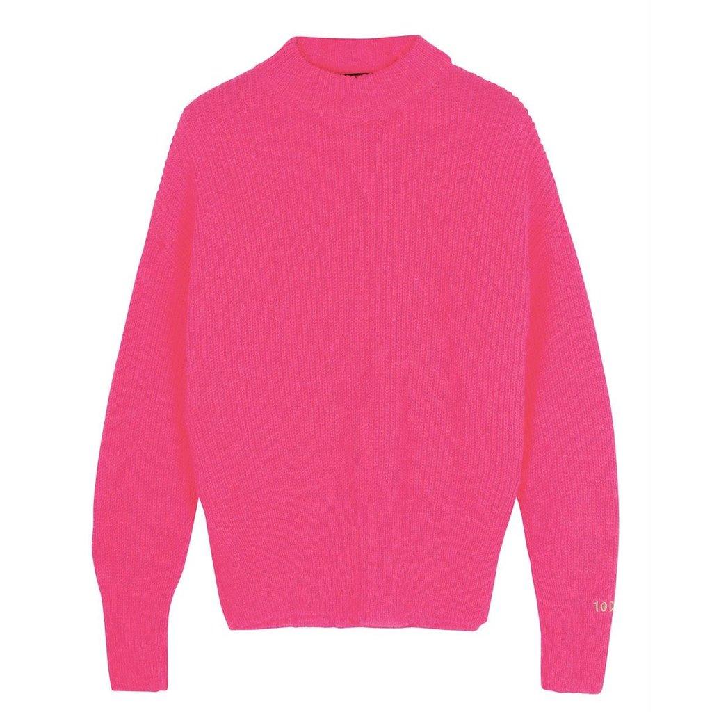 10Days Pink soft knit sweater 20-603-0204