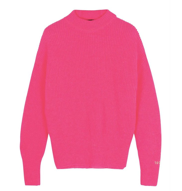 10Days 10Days Pink soft knit sweater 20-603-0204