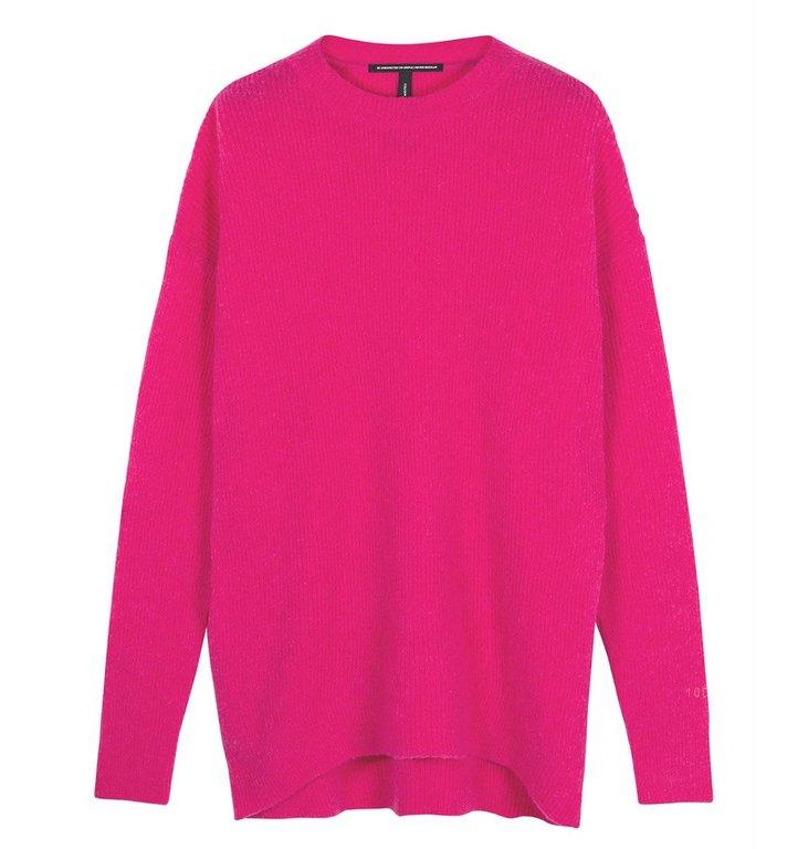 10Days 10Days Pink oversized sweater 20-604-0204