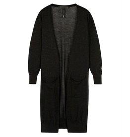 10Days 10Days Black cardigan lurex 20-651-0204