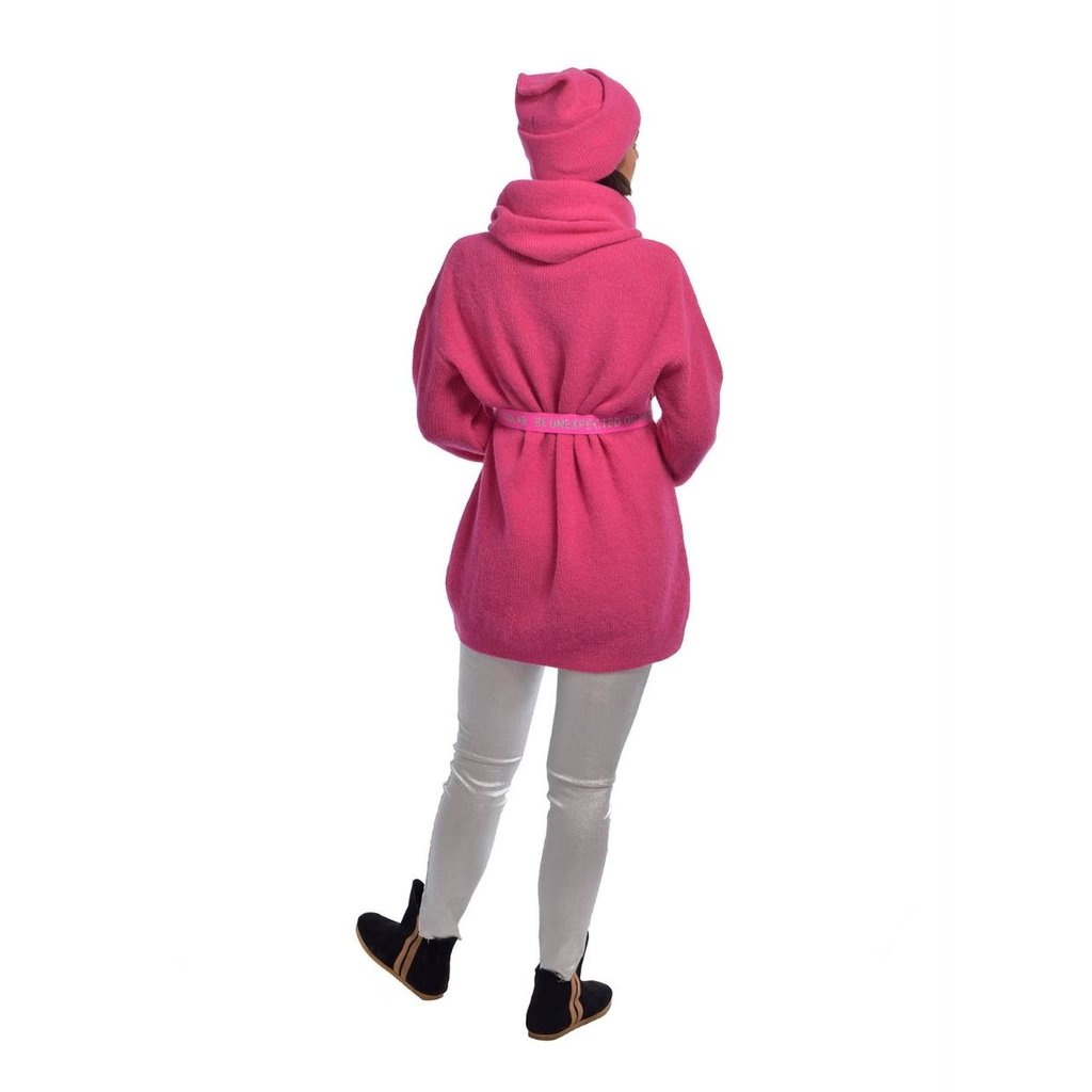 10Days Pink knitted coll 20-694-0204