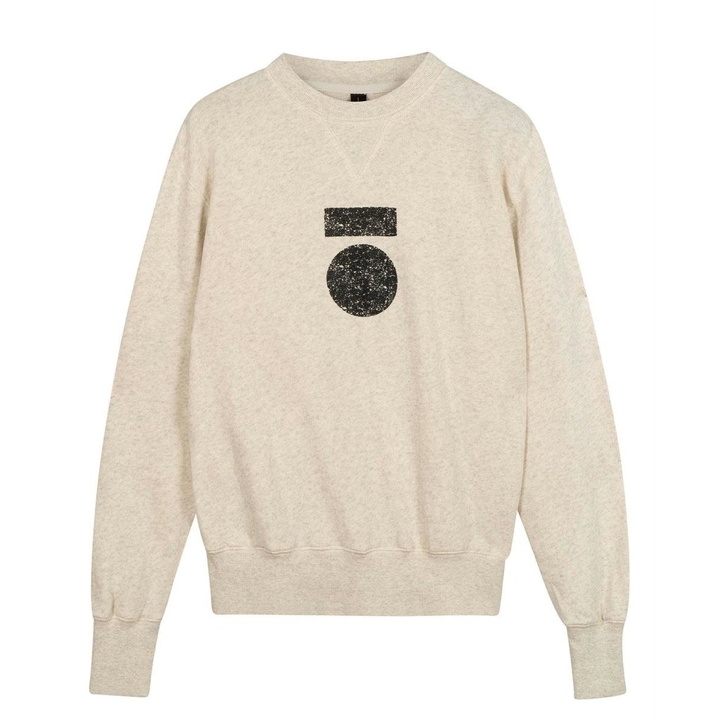 10Days Soft White Melee icon sweater 20-800-0204