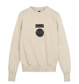 10Days 10Days Soft White Melee icon sweater 20-800-0204