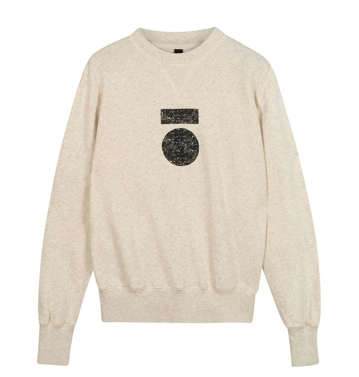 10Days 10Days Soft White Melee icon sweater 20-800-0204