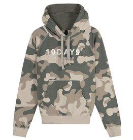 10Days 10Days Camouflage hoodie camo 20-802-0204
