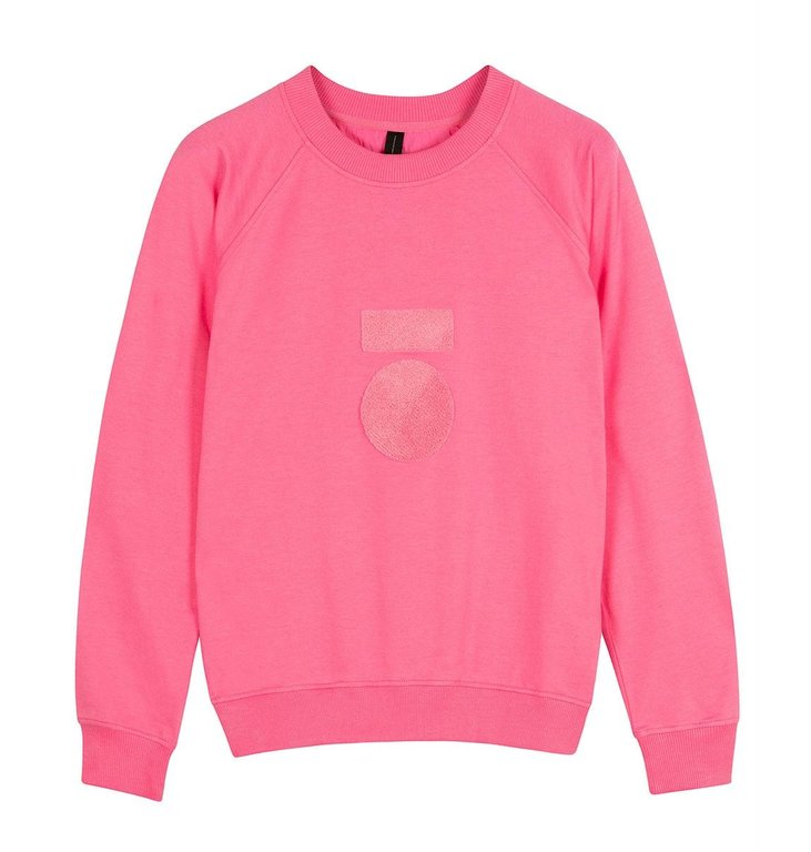 10Days 10Days Pink sweater terry 20-804-0204